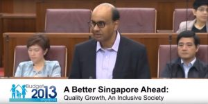 Budget 2013 - A Better Singapore Ahead: Quality Growth. An inclusive Society
