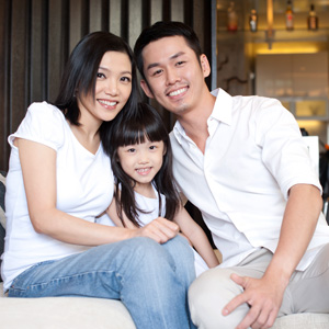 asian-family Rikvin: A Change in Housing Policies Could Remedy Singapore's Baby Blues