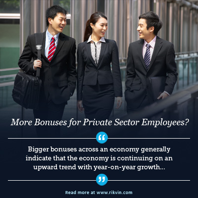 bigger-bonuses Private Sector Employers May Give 'More Generous Bonuses'