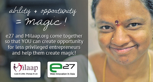 e27_-_new_banner Milaap's Entrepreneurship Development Fund raises S$100,000 for artisans