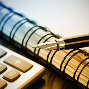 pen-calculator-notebook