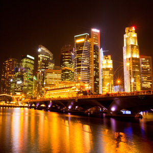 singapore-at-night Singapore Emerges as the Most Expensive City for Expats in Southeast Asia