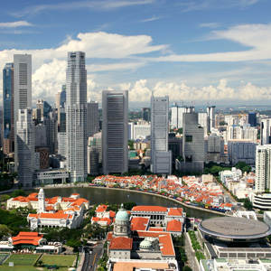 singapore-infra Singapore Supercedes Hong Kong as Preferred HQ Hub
