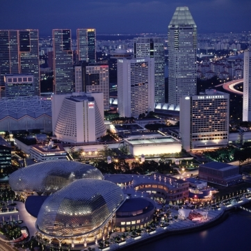 singapore-suntec-esplanade Singapore's Infrastructure Ranked Best in the World