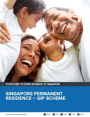 Singapore Permanent Residence – GIP Scheme