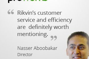 rikvin testimonials proworks