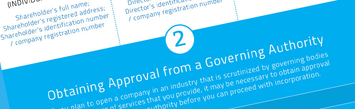 Infographic: company formation process