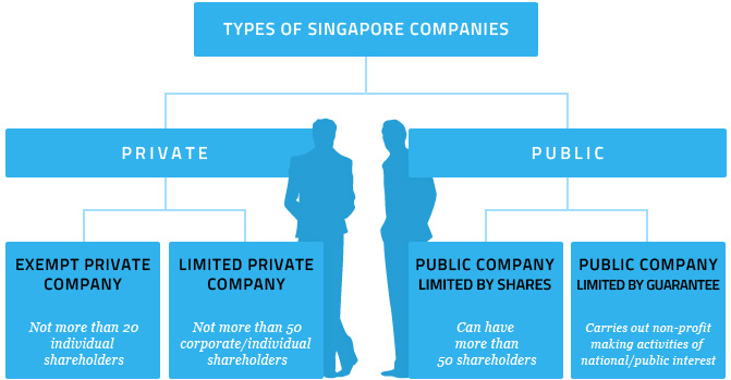 Types of companies in Singapore