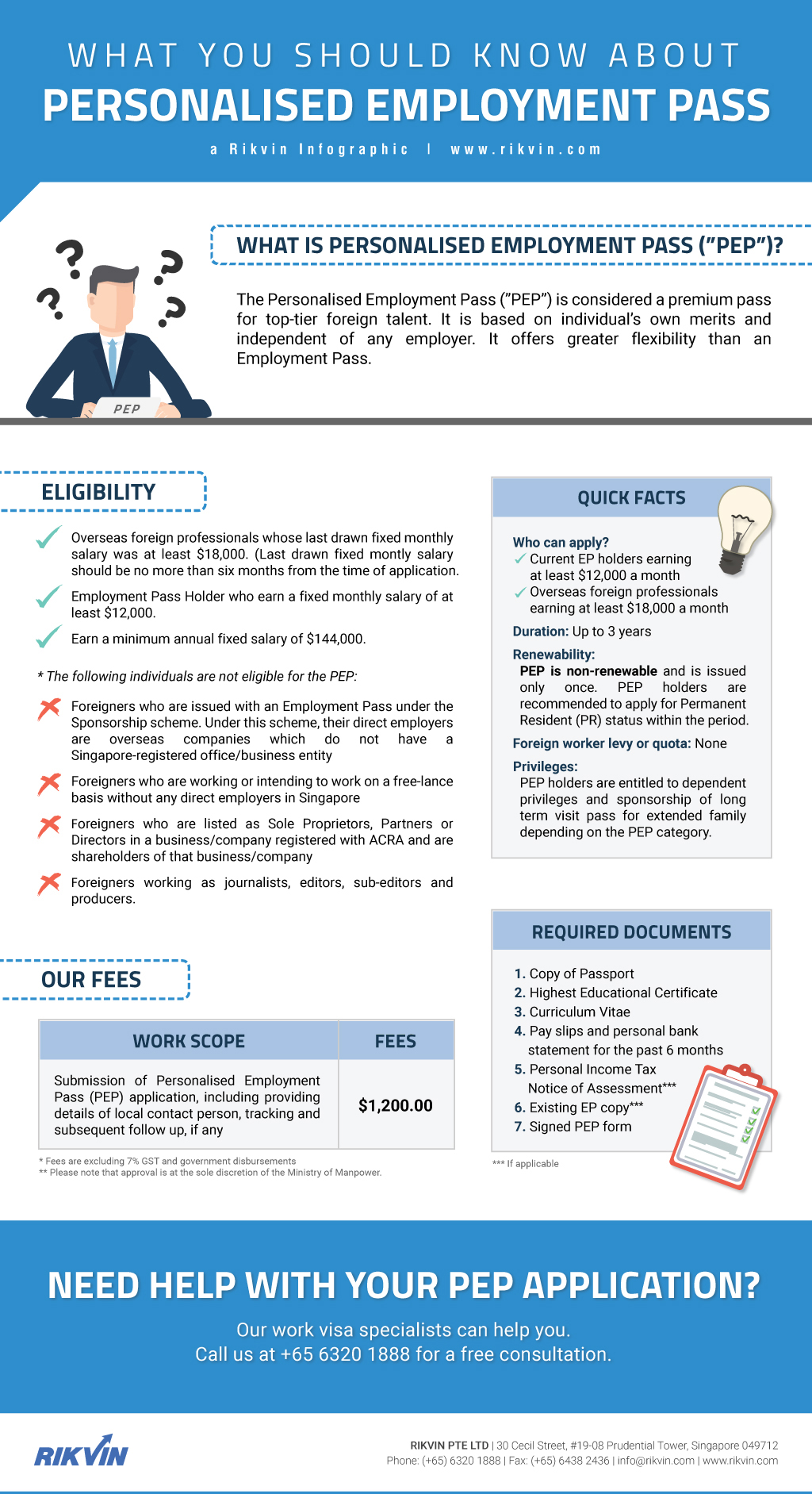 singapore personalised employment pass application
