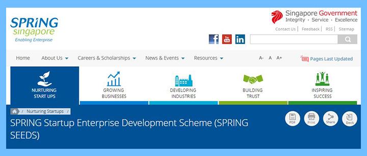 Startup Enterprise Development Scheme