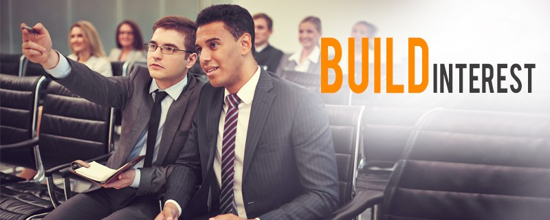 build interest for business launch