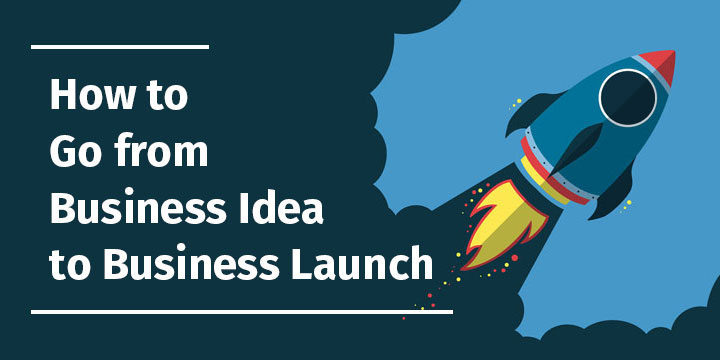 how to go from idea to business launch