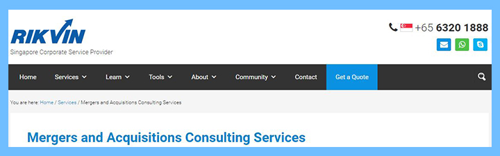 one stop mergers and acquisitions consulting services