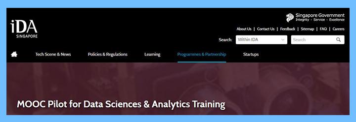 MOOC Pilot for Data Sciences & Analytics Training
