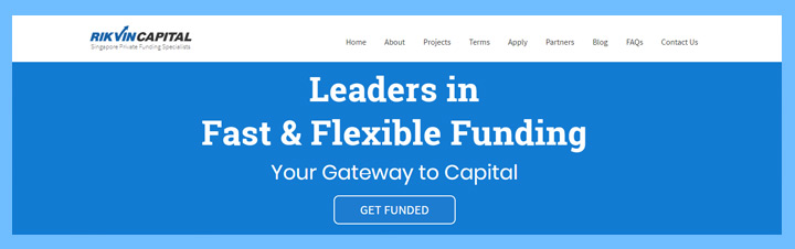Rikvin Capital Singapore Private Funding Specialists