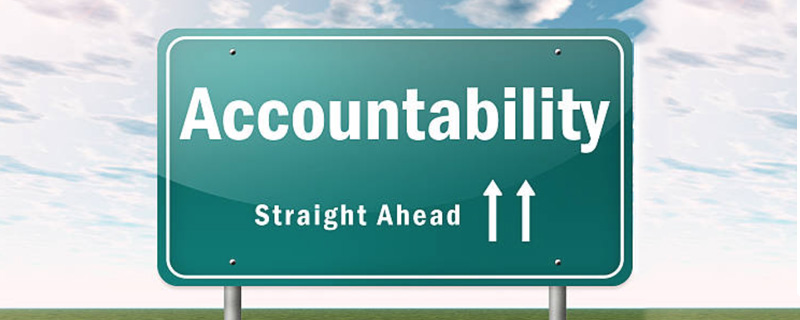 Become more accountable