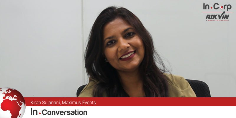 In.Conversation with Kiran Sujanani, Maximus Events