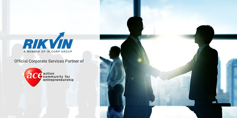 Rikvin (In.Corp Group Company) Appointed as Official Corporate Services Partner of ACE