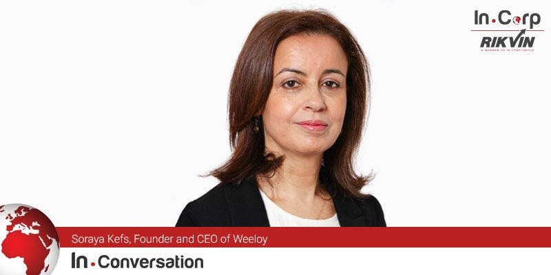 In.Conversation with Soraya Kefs, Founder and CEO of Weeloy