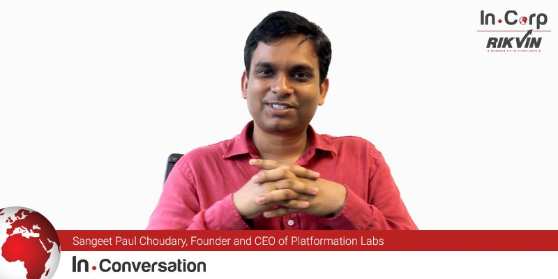 In.Conversation with Sangeet Paul Choudary, Founder and CEO of Platformation Labs