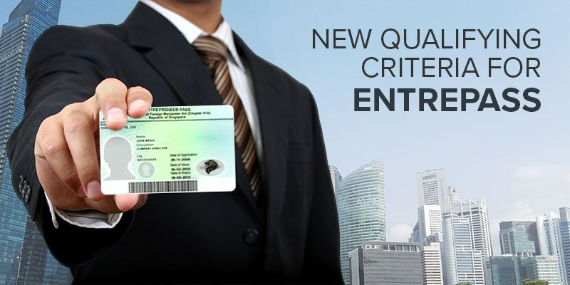 New Qualifying Criteria for EntrePass