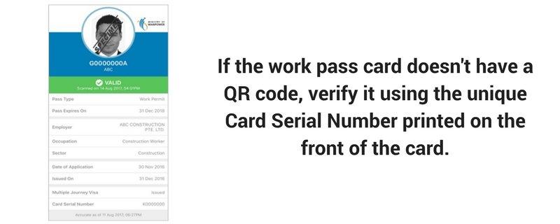 unique card serial number