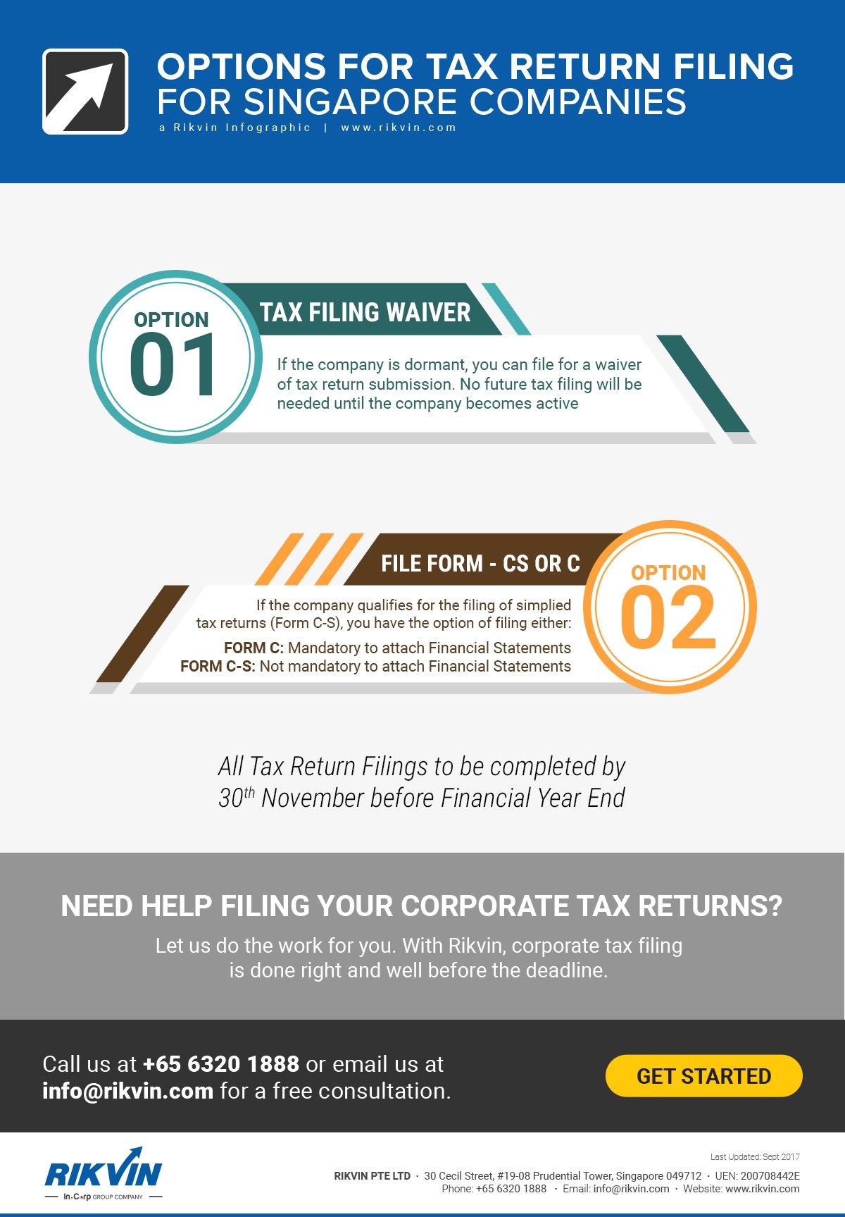 options tax return filing singapore companies