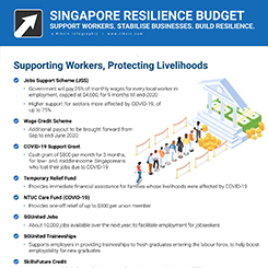 Singapore Resilience Budget 2020