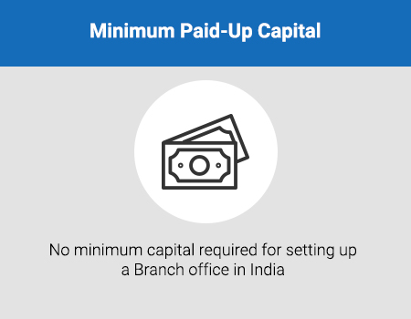 Setup requirements for Branch Office in India