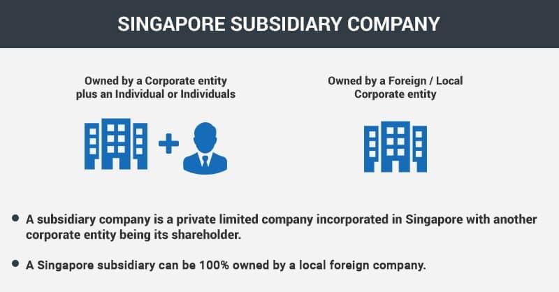 Singapore Subsidiary Company Registration