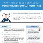 Infographic: What You Should Know About Personalised Employment Pass