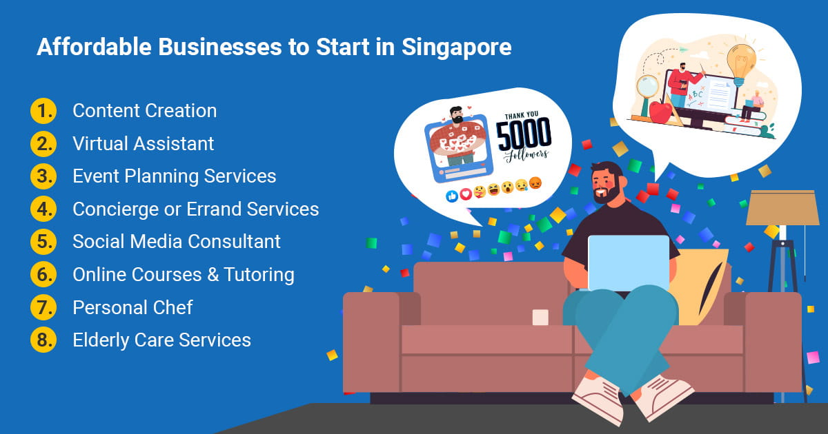 Affordable Businesses to Start in Singapore