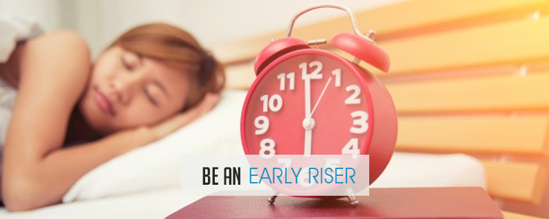 Be-an-Early-Riser The 5 Common Traits of Successful Entrepreneurs