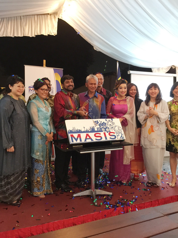 MASIS-launch Rikvin Welcomes the 'Malaysian Association in Singapore' (MASIS)