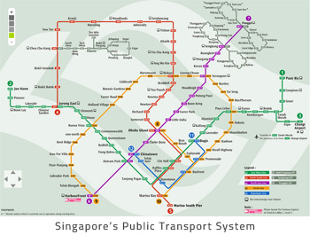 Singapore-public-transport-system A Relocation Guide for Immigrants in Singapore