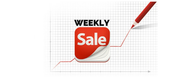 Weekly-sales 42 Sales Statistics that will Help Improve Your Selling