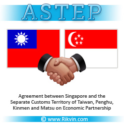 astep21 Taiwan and Singapore Sign Free Trade Agreement