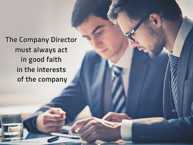 company director must always act in good faith