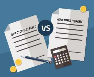 director-vs-auditor Auditor's Report