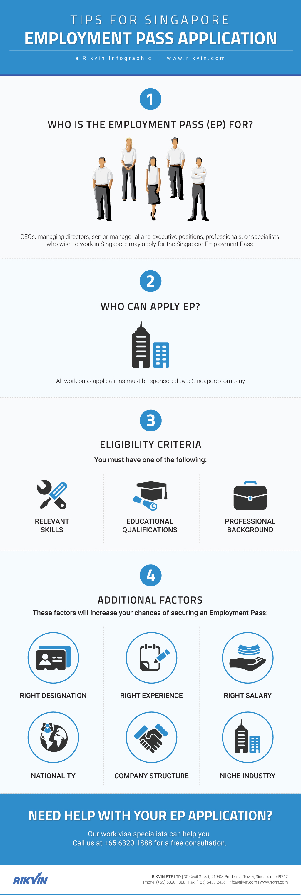employment-pass-application-infographics Singapore Employment Pass Application