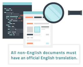 english translation of documents