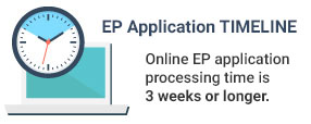 ep application timeline