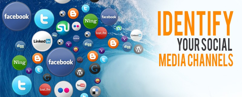identify your social media channels for business launch