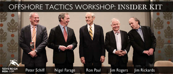 Sovereign Man Offshore Tactics Workshop