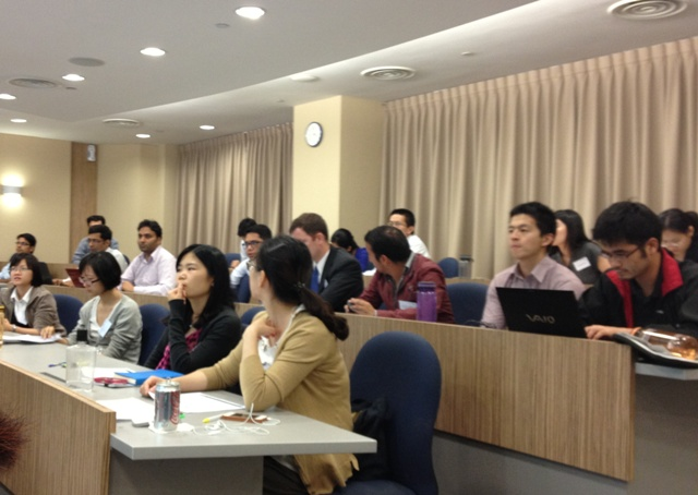 mba1a Rikvin's Nanyang MBA Career Talk Yields Great Feedback