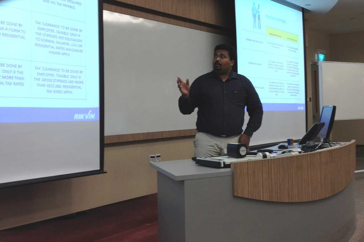 mba2a Rikvin's Nanyang MBA Career Talk Yields Great Feedback