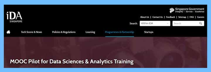 mooc-pilot-for-data-sciences-analytics-training 16 Singapore Start-Up Grants and Schemes