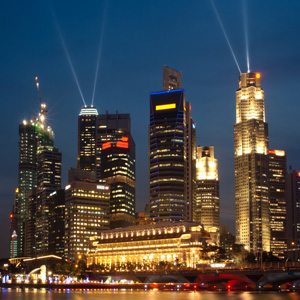 singapore-skyline Tax Benefits of a Singapore Holding Company for Investment in India