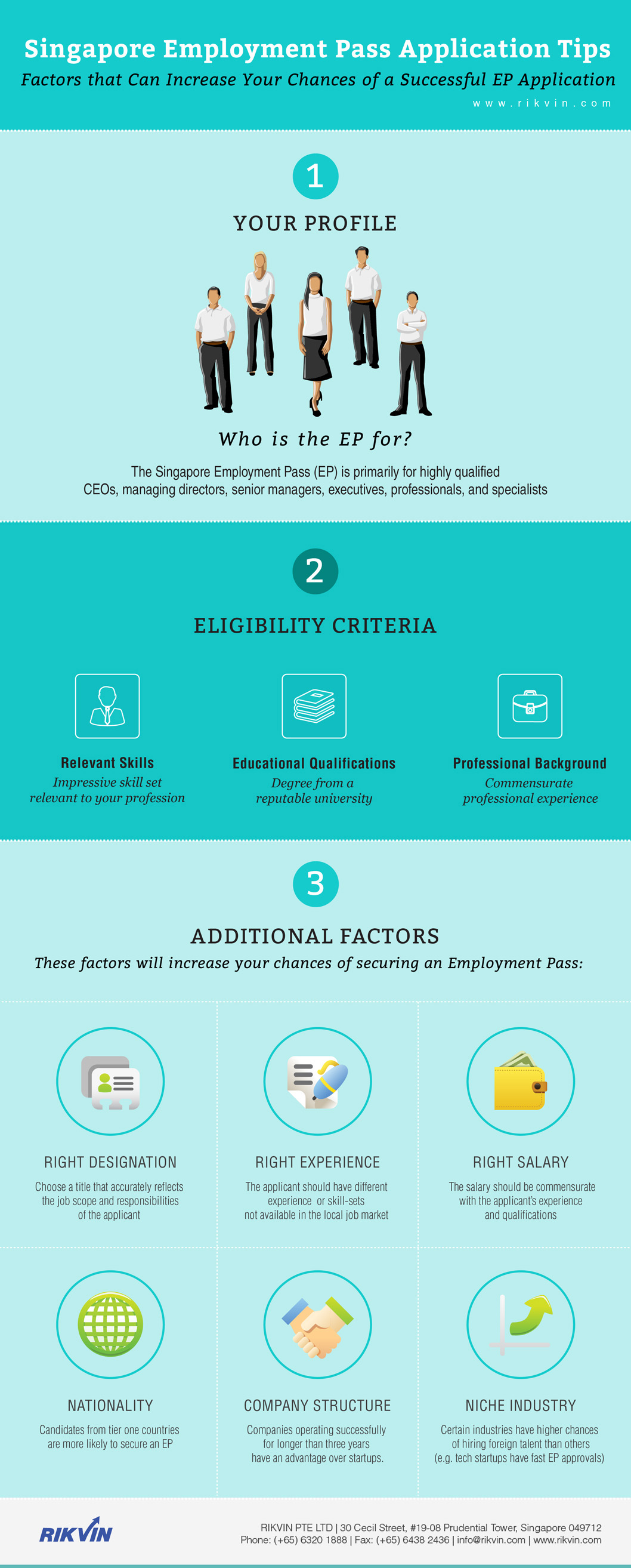 tips-for-successful-employment-pass-application1 How to Increase Your Chances of a Successful Singapore Employment Pass Application